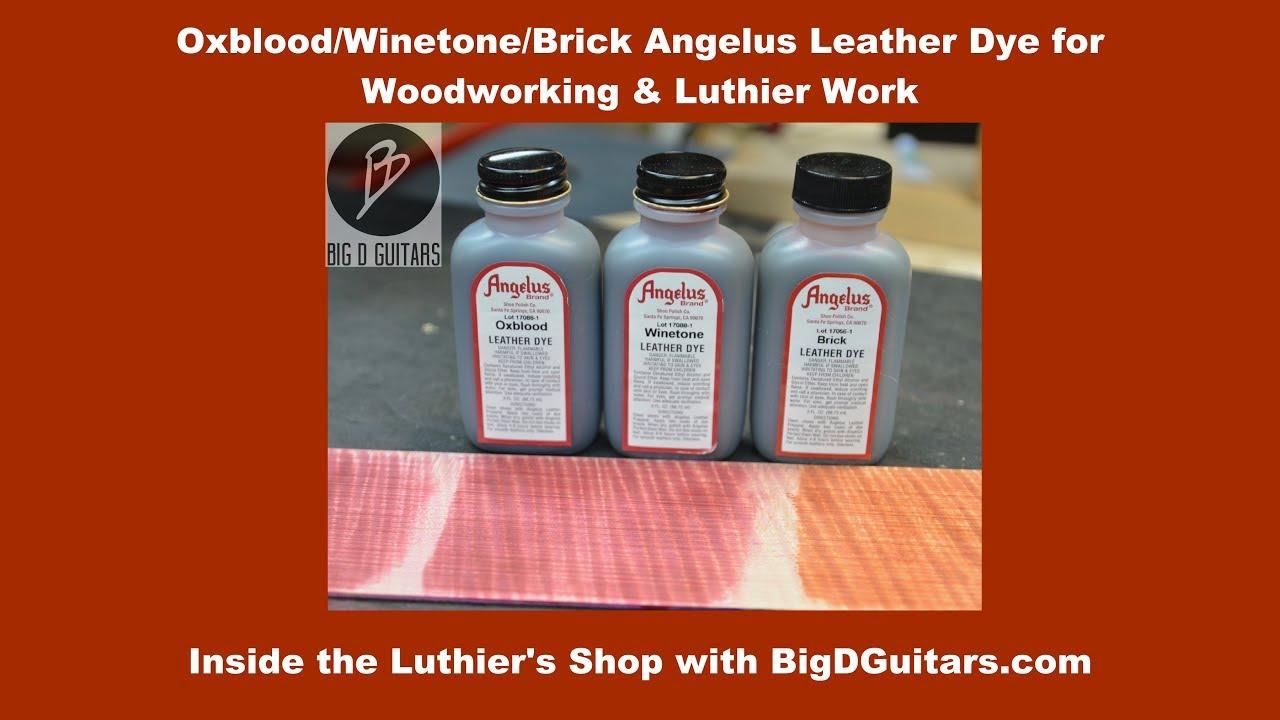 Oxblood/Winetone/Brick Angelus Leather