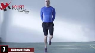 Exercice fitness : Talon fesse