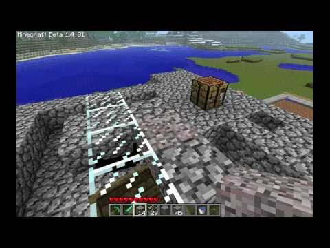 Minecraft - Wheat Farm Tutorial Part 2: Flood Gate System (Take 2)