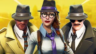 New Fortnite Detective Skins! (Fortnite Battle Royale)