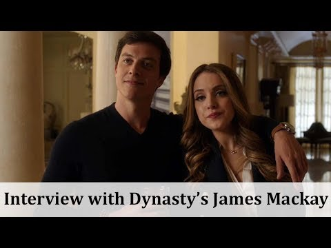 with Dynasty Actor James Mackay