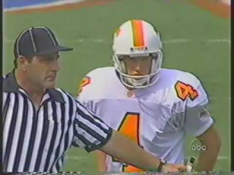 1995 # 8 Tennessee vs # 4 Florida