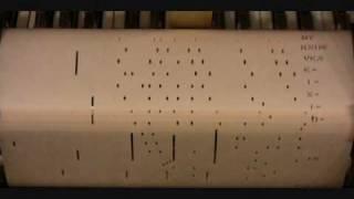 Swanee US Piano Roll Original 1919 Version Player Piano Roll