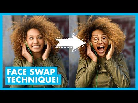 AMAZING Photoshop Face Swap Tutorial