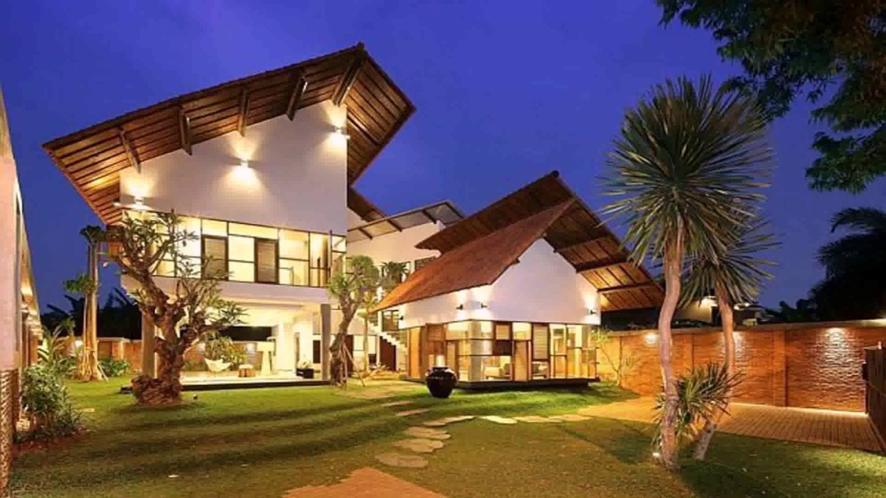 Minimalist House Design In Indonesia See Description Youtube