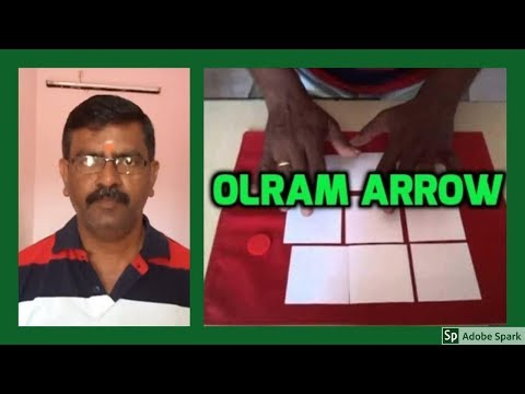 MAGIC TRICKS VIDEOS IN TAMIL #373 I OLRAM ARROW @Magic Vijay