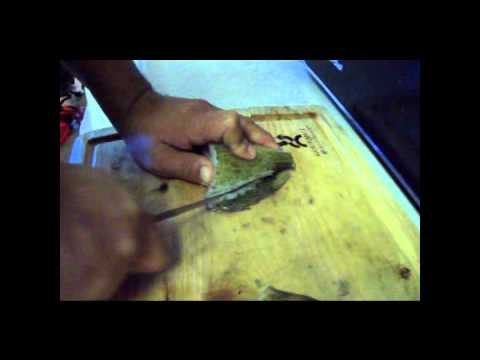 how to clean and fillet a bass