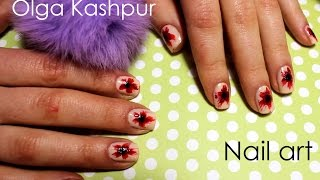 Poppies|| Nail art|| Рисуем маки на ногтях(Сегодня мы с сестрой покажем как просто нарисовать чудесные маки на ногтях 1. Sally Hansen Advanced Hard as nails 2. Sally Hansen..., 2016-03-15T10:24:19.000Z)