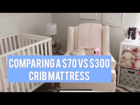 Crib Mattress Review: Newton Baby vs Safety 1st