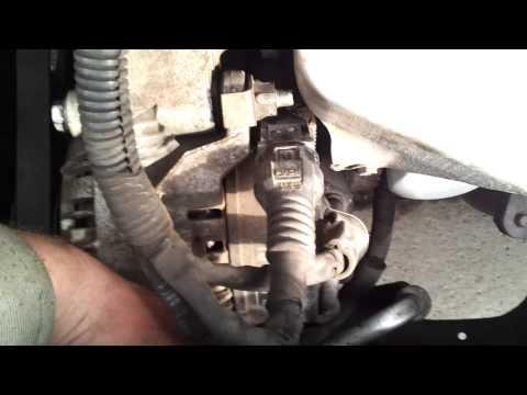 Как натянуть ремень генератора на тойоте 7afe