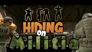 Hiding In CS:GO - Militia