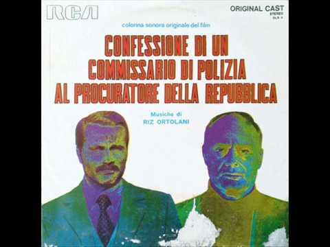 Riz Ortolani Italia, 1971  Confessione Di Un Commissario Di Polizia