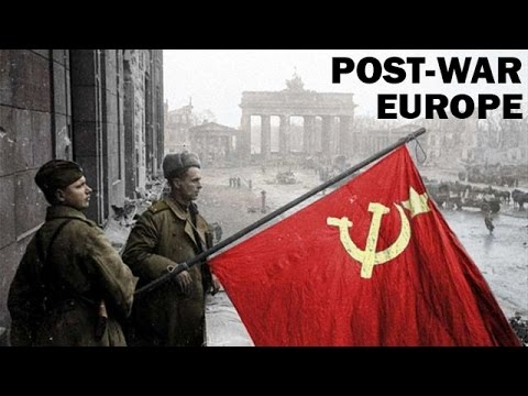 How Did World War 2 Change Europe | Post-War Europe | Documentary