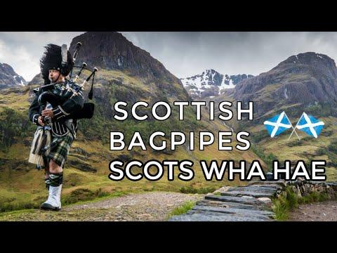 ♫ Scottish Bagpipes - Scots Wha Hae ♫