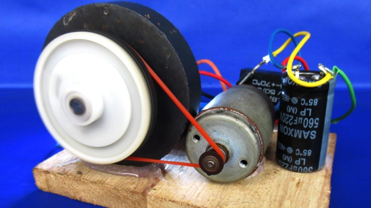 для фото сделать генератор из двигателя от магнитофона белорусской пустыне