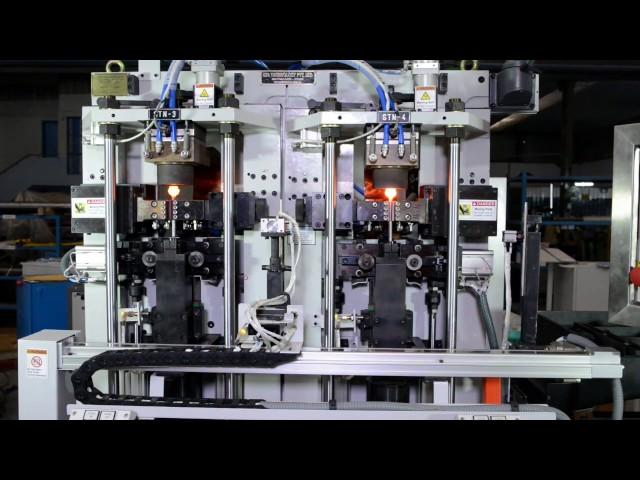 30 KVA Doppelkopf Servoelektrischer Stauchapparat