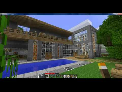 Minecraft maison design youtube for Maison design