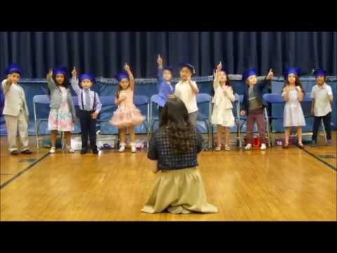 Garden School Kindergarten Moving Up Ceremony 2017