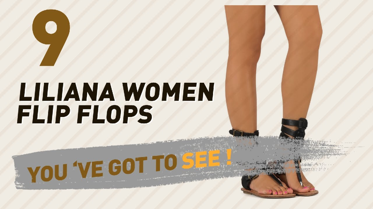 d153c98182d5 Liliana Women Flip Flops    New   Popular 2017 - YouTube