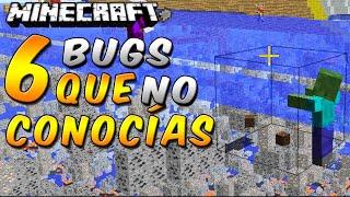 Minecraft: 6 Bugs/Glitches/Trucos que NO Conocías - Rabahrex