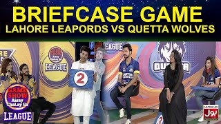 Briefcase Game | Game Show Aisay Chalay Ga League | Quetta Wolves vs Lahore Leapords