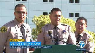 2 LASD deputies reunite with toddler whose life they helped save I ABC7