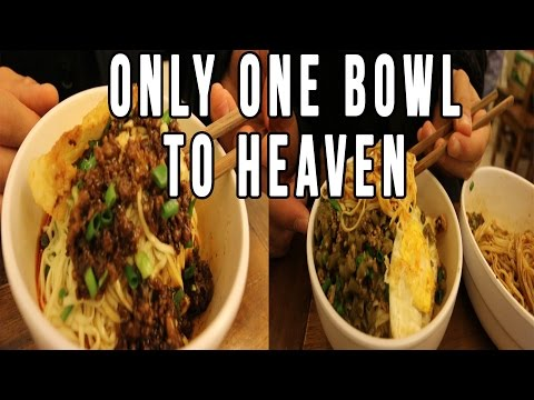 Enter Noodle Heaven And Hell in Sichuan | Chinese Night Noodles in Chengdu, China