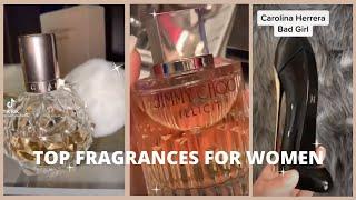 TOP FRAGRANCES FOR WOMEN 2021 | PERFUME TIKTOKS ~ smell like a snack 🥵💕