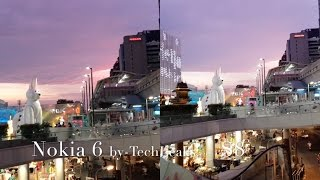 SAMSUNG GALAXY S8 vs NOKIA 6 LOW LIGHT VIDEO AND MIC TEST