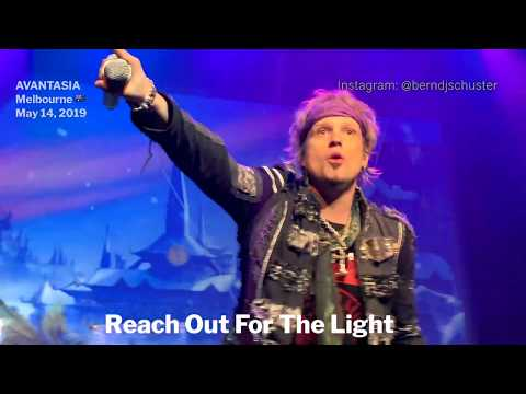 AVANTASIA - Reach Out For The Light @The Forum, Melbourne - May 14, 2019 LIVE 4K