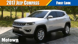 Jeep Compass First Look | FCA officials explain finer points