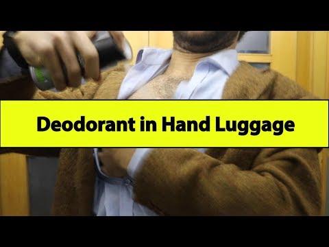 Deodorant in Hand Luggage