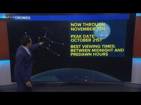 The Orionid meteor shower peaks tonight! Here's how to see it.