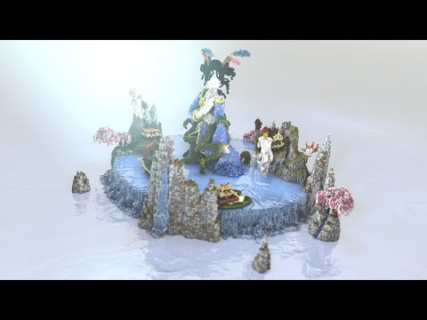 [Minecraft Timelapse] The Song Of a Geïsha by Mermaid + DOWNLOAD