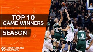 2017-18 Turkish Airlines EuroLeague: Top 10 game-winners!