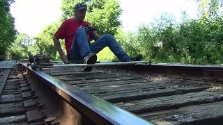 Go Karts On Railroad Tracks My Railway Trolley ,mcculloch Chainsaw Motor And Light Weight