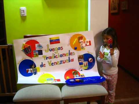 Carlota Practica Exposicion Juegos Tradicionales De Venezuela Youtube
