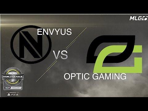 Team EnVyUs vs OpTic Gaming - Pool Play - #CWLDallas