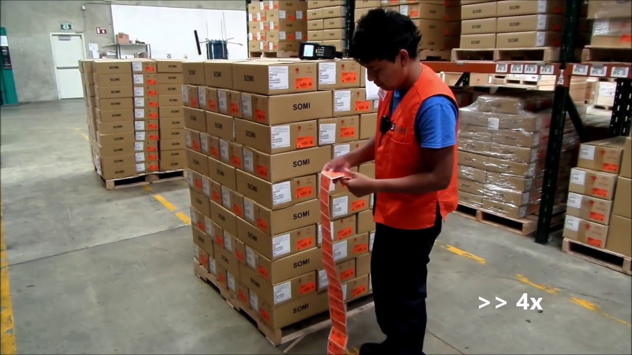 The role of a warehouse management system in logistics chain