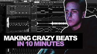 I MAKE BEATS THAT FAST? TOO SLOW? | 10-Minute Tuesday #001 (Making A Beat In FL Studio From Scratch)