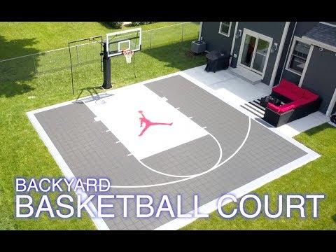 VersaCourt and MegaSlam XL - Backyard Basketball Court