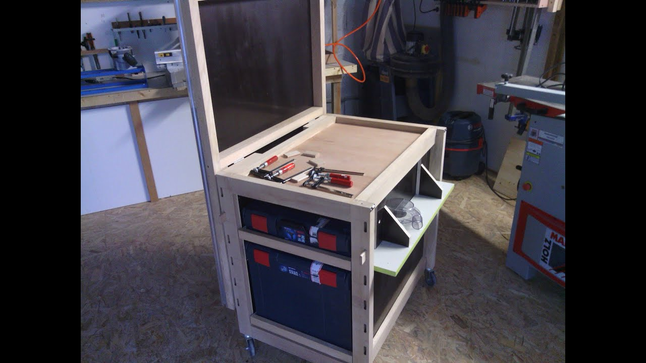 diy tabli multifonctions mftc workbench multifonction mftc youtube. Black Bedroom Furniture Sets. Home Design Ideas