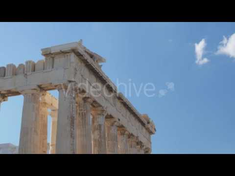 Travel View of Acropolis in Athens, Greece - Stock Footage | VideoHive 14384364