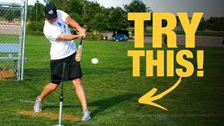 SIMPLE HITTING DRILL To Make Perfect Contact!