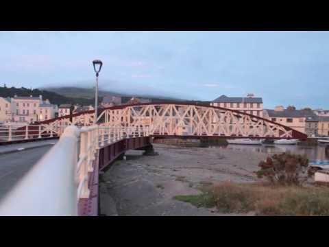 Ramsey Harbour Swing Bridge turning at dawn (Victorian Engineering)