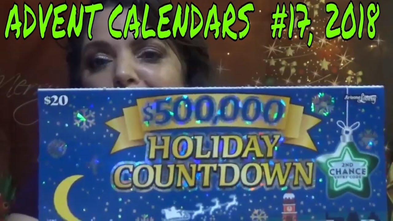 500 000 Holiday Countdown Advent Calendar Youtube