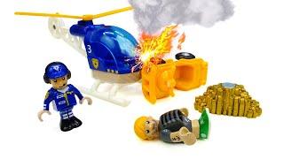 Игрушки для малышей— Железная дорога Брио (Brio) и золото —деревянные игрушки для самых маленьких