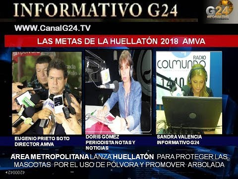 AREA METROPOLITANA LANZA HUELLATÓN 2018 La Pólvora Arruina Historias