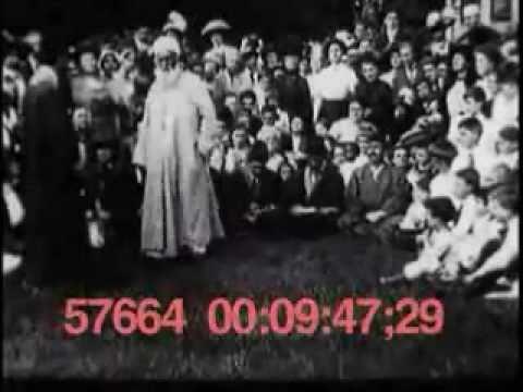 Rare Silent Short  Movie of 'Abdu'l-Baha in New York, 1912