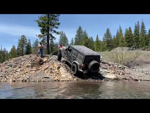 First Time I Go Off Road On My Jeep Rubicon! Bowman Lake California